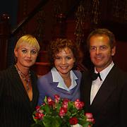 Premiere Sound of Music, Vera Mann, Maaike Widdershoven en Bert Kuizinga