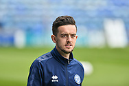 Rochdale Forward, Zach Clough (26) arrives at the stadium during the EFL Sky Bet League 1 match between Portsmouth and Rochdale at Fratton Park, Portsmouth, England on 13 April 2019.