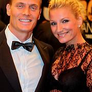 NLD/Amsterdam/20111004 - Premiere Body Language, Winston Post en partner Denise van Rijswijk