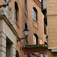 Europe, Spain, Toledo. Architecture of Toledo, steps.