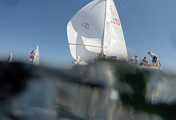 Sailing - SCOTLAND  - 25th-28th May 2018<br /> <br /> The Scottish Series 2018, organised by the  Clyde Cruising Club, <br /> <br /> First days racing on Loch Fyne.<br /> <br /> GIRL4412, Miss Behavin, A Lennox / G Simpson, HSC, Sigma 33<br /> <br /> Credit : Marc Turner<br /> <br /> <br /> Event is supported by Helly Hansen, Luddon, Silvers Marine, Tunnocks, Hempel and Argyll & Bute Council along with Bowmore, The Botanist and The Botanist