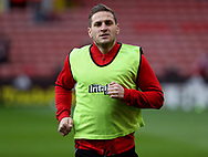 Billy Sharp of Sheffield United during the English League One match at the Bramall Lane Stadium, Sheffield. Picture date: April 5th, 2017. Pic credit should read: Jamie Tyerman/Sportimage