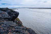 Iceland. Jokulsa a Fjollum river in the Vatnajokull National Park, along the road to Askja.
