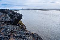 Iceland. Jokulsa a Fjollum river in the Vatnajokull National Park, along the road to Askja.