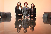 SHOT 12/4/19 11:36:15 AM - McGuane & Hogan, P.C., a Colorado family law firm located in Denver, Co. Includes attorneys Kathleen Ann Hogan, Halleh T. Omidi and Katie P. Ahles. (Photo by Marc Piscotty / © 2019)