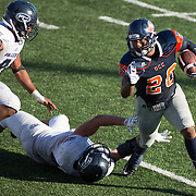 Fullerton College defeats Orange Coast College 35-14 at Orange Coast College on November 5, 2016.