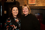 02/04/2019 Repro free:  <br /> Maura Glynn. Network Galway President 2019 and Breda Fox LEO   at Harvest in the Mick Lally Theatre , an opportunity to share ideas for innovation and growth and discuss how to cultivate the city as a destination for innovation, hosted by GTC  and Sponsored by AIB and The Sunday Business Post .<br /> <br />   Photo: Andrew Downes, Xposure