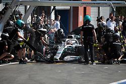 August 31, 2019, Spa Francorchamps, Belgio: xa9; Photo4 / LaPresse.31/08/2019 Spa Francorchamps, Belgio.Sport .Grand Prix Formula One Belgio 2019.In the pic: Lewis Hamilton (GBR) Mercedes AMG F1 W10 (Credit Image: © Photo4/Lapresse via ZUMA Press)