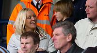 Photo: Alan Crowhurst.<br />Wycombe Wanderers v Torquay United. Coca Cola League 2. 18/03/2006. Soccer AM presenter and Torquay fan Helen Chamberlain.