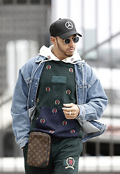 November 8, 2018 - Sao Paolo, Brazil - Lewis Hamilton (Mercedes-AMG) arrives at the Autodromo of Interlagos. (Credit Image: © Thiago Bernardes/Pacific Press via ZUMA Wire)