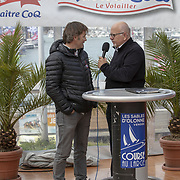 Régate en solitaire de la class figaro Bénéteau 3 aux Sables d(Olonne organisé par LSOVCL