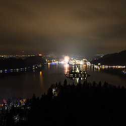 20151230: SLO, Events - Olympic Circle of Safety at Bled for the Guinness Book of Records