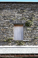 barn in Cumbria winnowing door
