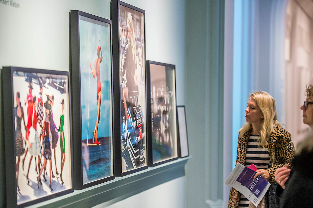 Robin Muir, Curator - Vogue I00, a Century of Style - a new exhibition at the National Portrait Gallery. It showcases a range of photography commissioned by the magazine since it was founded in 1916. It runs from 11 Feb to 22 May 2016.
