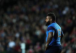 Mathieu Bastareaud of France  - Mandatory byline: Joe Meredith/JMP - 07966386802 - 01/10/2015 - Rugby Union, World Cup - Stadium:MK -Milton Keynes,England - France v Canada - Rugby World Cup 2015