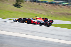 November 10, 2017 - Sao Paulo, Sao Paulo, Brazil - 3 DANIEL RICCIARDO  (AUS) of Red Bull Racing, drives during the free training day for the Formula One Grand Prix of Brazil at Interlagos circuit, in Sao Paulo, Brazil. The grand prix will be celebrated next Sunday, November 12. (Credit Image: © Paulo Lopes via ZUMA Wire)