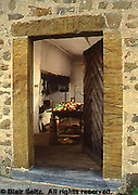 Hans Herr House, 1719, Lancaster, PA doorway and hearth
