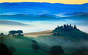 Val d'Orcia in Italy's Tuscany province