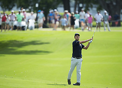 May 26, 2019 - Fort Worth, TX, USA - Kevin Na wins the 2019 Charles Schwab Challenge PGA at Colonial Country Club. (Credit Image: © Erich Schlegel/ZUMA Wire)