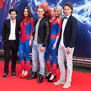 NLD/Amsterdam/20140422 - Premiere The Amazing Spiderman 2, Ruud Feltkamp met Ferry Doedens en .....