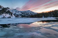 Mirror Lake, Eagle Cap Wilderness Wallowa Mountains Oregon
