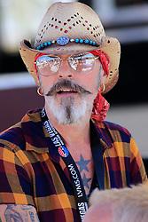 September 14, 2018 - Las Vegas, NV, U.S. - LAS VEGAS, NV - SEPTEMBER 14: Performer in the Neon Garage during practice for the DC Solar 300 NASCAR Xfinity Series Playoff Race on September 14, 2018, at Las Vegas Motor Speedway in Las Vegas, NV. (Photo by David Griffin/Icon Sportswire) (Credit Image: © David Griffin/Icon SMI via ZUMA Press)