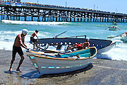 Dory Boat Races In San Clemente