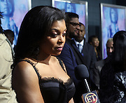 Taraji P. Henson at Tyler Perry's special New York Premiere of ' I Can Do Bad all By Myself ' held at the School of Visual Arts Theater on September 8, 2009 in New York City.