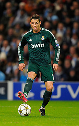 Nov. 21, 2012 - United Kingdom - Cristiano Ronaldo of Real Madrid - UEFA Champions League Group D - Manchester City vs Real Madrid - Etihad Stadium - Manchester - 21/11/12 - Picture Simon Bellis/Sportimage-(Credit Image: © Sportimage/Cal Sport Media/ZUMAPRESS.com)