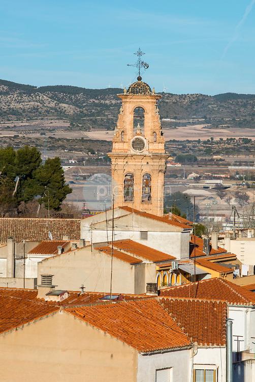 Iglesia de Almansa. Albacete<br />  ©Antonio Real Hurtado / PILAR REVILLA