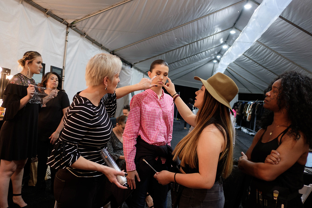 2018 Fashion Week El Paseo, in Palm Desert, California featuring runway show Ralph Rucci. Photos by Tiffany L. Clark