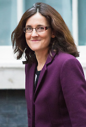 Downing Street, London, September 15th 2015.  Northern Ireland Secretary Theresa Villiers arrives at 10 Downing Street to attend the weekly cabinet meeting
