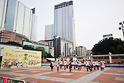 Asia, Southeast, People's Republic of China, Hong Kong. Founder's Day Scout Musical Rally