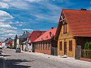 Ulica Złota, Tykocin, Polska<br /> Złota Street in Tykocin, Poland
