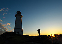 A Nova Scotia visit is even better when you photograph the Louisbourg Lighthouse at sunset