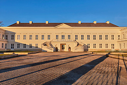 FaÁade of building at Herrenhausen Garden