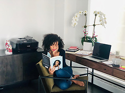 """Kerry Washington releases a photo on Instagram with the following caption: """"When we made the decision to move to NYC for a while and do some theater, @roomandboard offered to design some of the spaces in our home. I love taking time in my home office to catch up on work OR sneaking in here to try to get some uninterrupted reading time. Thanks for designing such an elegant and functional space #roomandboard \ud83d\ude4f\ud83c\udffe ."""". Photo Credit: Instagram *** No USA Distribution *** For Editorial Use Only *** Not to be Published in Books or Photo Books ***  Please note: Fees charged by the agency are for the agency's services only, and do not, nor are they intended to, convey to the user any ownership of Copyright or License in the material. The agency does not claim any ownership including but not limited to Copyright or License in the attached material. By publishing this material you expressly agree to indemnify and to hold the agency and its directors, shareholders and employees harmless from any loss, claims, damages, demands, expenses (including legal fees), or any causes of action or allegation against the agency arising out of or connected in any way with publication of the material."""