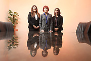 SHOT 12/4/19 11:29:36 AM - McGuane & Hogan, P.C., a Colorado family law firm located in Denver, Co. Includes attorneys Kathleen Ann Hogan, Halleh T. Omidi and Katie P. Ahles. (Photo by Marc Piscotty / © 2019)