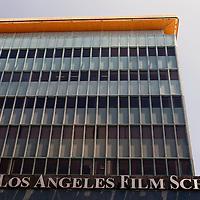 USA, California, Los Angeles. The Los Angeles Film School building on Hollywood Boulevard.