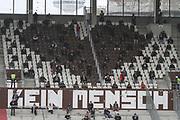 Fussball: 2. Bundesliga, FC St. Pauli - 1. FC Heidenheim, Hamburg, 27.09.2020<br /> Fans, Zuschauer<br /> © Torsten Helmke