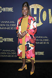 January 5, 2019 - West Hollywood, CA, USA - LOS ANGELES - JAN 5:  Yolonda Ross at the Showtime Golden Globe Nominees Celebration at the Sunset Tower Hotel on January 5, 2019 in West Hollywood, CA (Credit Image: © Kay Blake/ZUMA Wire)