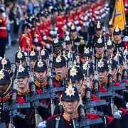 NLD/Den Haag/20170919 - Prinsjesdag 2017, Militaire parade, erewacht