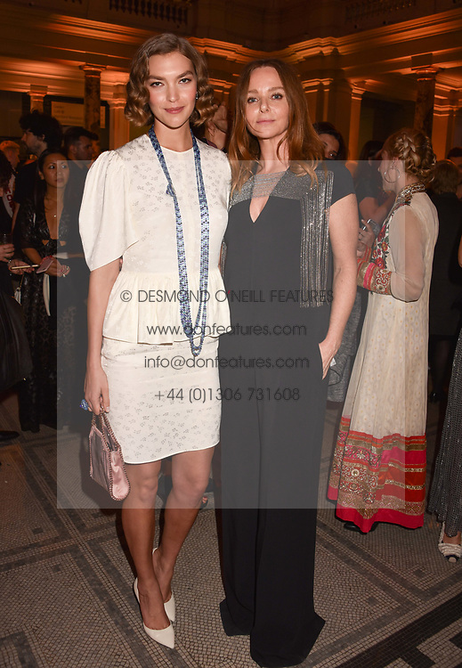 Arizona Muse and Stella McCartney at Fashioned From Nature held at The V&A Museum, London, England. 18 April 2018.