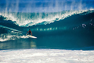 Surfing at the Banzai Pipeline Hawaii photography