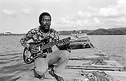 Junior Murvin at home in Port Antonio Jamaica 1973