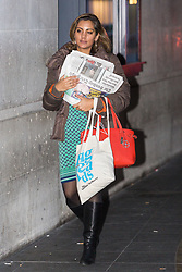 London, January 28 2018. Sonia Sodha, chief leader writer for The Observer. attends the Andrew Marr Show at the BBC's New Broadcasting House in London. © Paul Davey