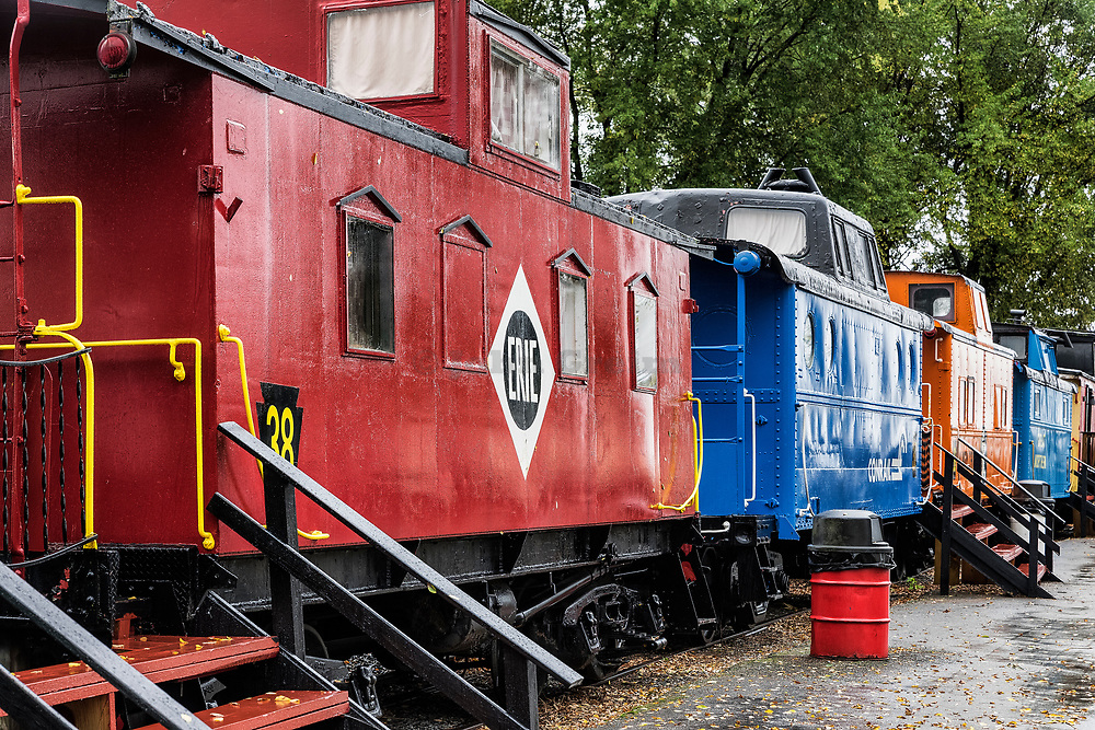 The Red Caboose Motel, Ronks, Lancaster County, Pennsylvania, USA