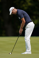August 12, 2018 - St. Louis, Missouri, United States - Martin Kaymer putts the 9th green during the final round of the 100th PGA Championship at Bellerive Country Club. (Credit Image: © Debby Wong via ZUMA Wire)