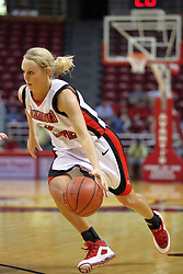 02 November 2008: Maggie Krick during a game which the Illinois State Redbirds defeated Odyssey on Doug Collins Court inside Redbird Arena in Normal Illinois.