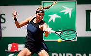 Petra Kvitova of the Czech Republic during the first round of the Roland-Garros 2021, Grand Slam tennis tournament on May 30, 2021 at Roland-Garros stadium in Paris, France - Photo Rob Prange / Spain ProSportsImages / DPPI / ProSportsImages / DPPI